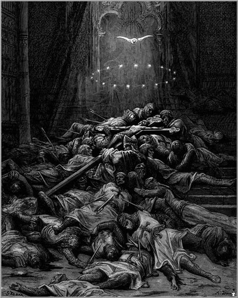 A Celestial Light, 1875 - Gustave Dore
