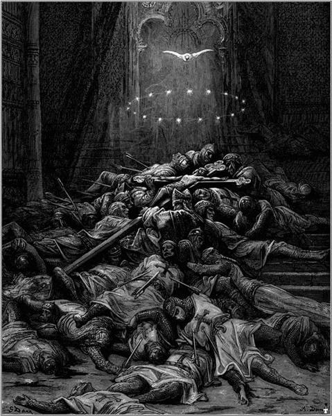 A Celestial Light - Gustave Dore