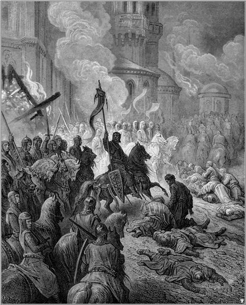 Entry of the Crusaders in Constantinople in 1204 - Gustave Dore