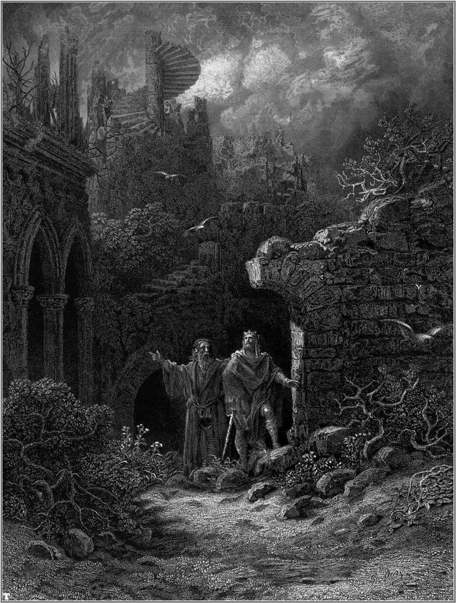 Idylls of the King by Gustave Doré