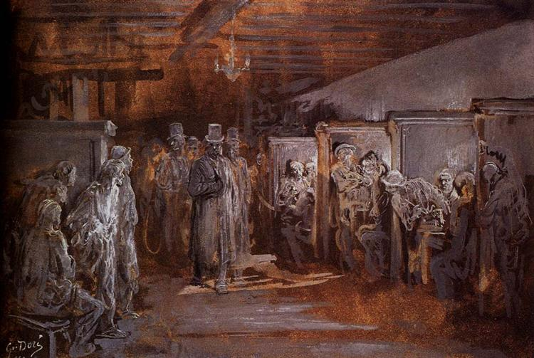 Tavern in Whitechapel - Gustave Dore