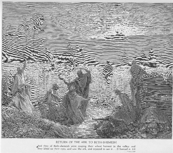 At Beth Shemesh Ark: The Ark Is Returned To Beth Shemesh