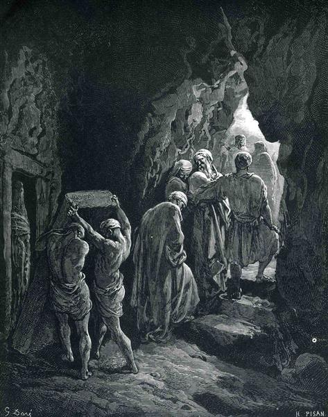 The Burial of Sarah - Gustave Dore