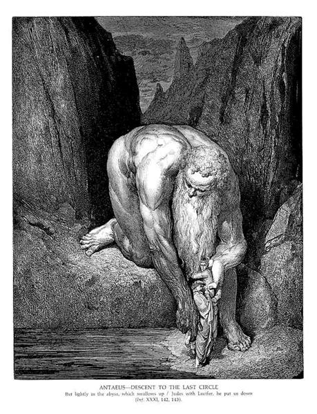 The Giant Antaeus, c.1868 - Gustave Dore