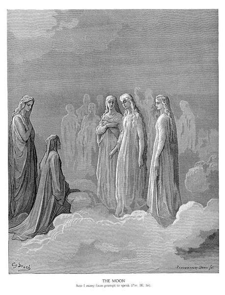 The Moon - Gustave Dore - WikiArt.org