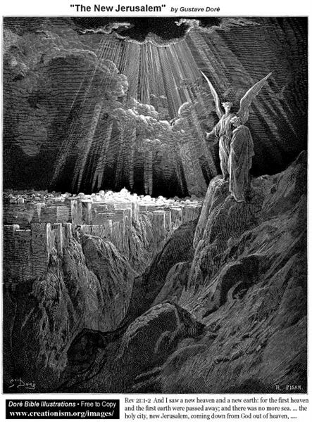 The New Jerusalem - Gustave Dore