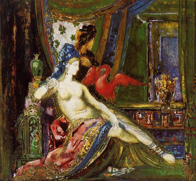 Dalila, c.1890 - Gustave Moreau