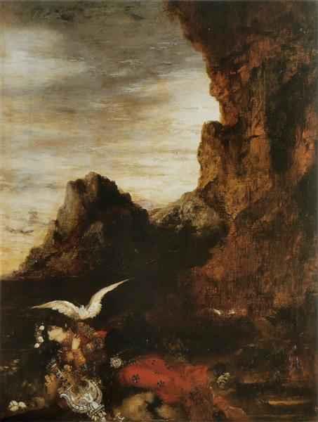 Death of Sappho, c.1870 - Gustave Moreau