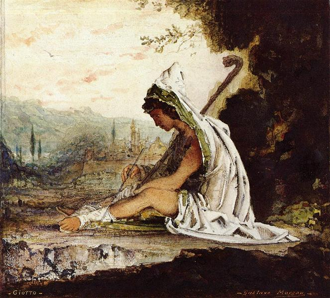 Giotto, c.1882 - Gustave Moreau