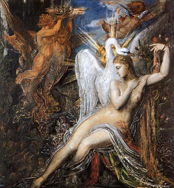 Leda, 1865 - 1875 - Gustave Moreau
