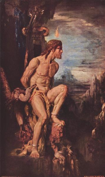 Promethée - Gustave Moreau