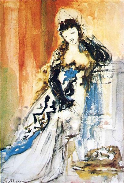 Salome, c.1875 - Gustave Moreau