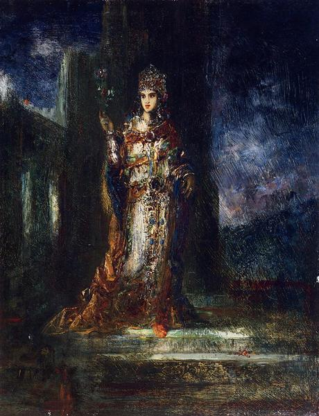 The Fiancee of the Night (The Song of Songs), c.1892 - Gustave Moreau
