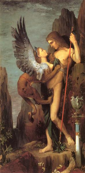 The Sphinx - Gustave Moreau