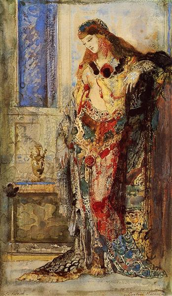 The Toilet, c.1885 - 1890 - Gustave Moreau