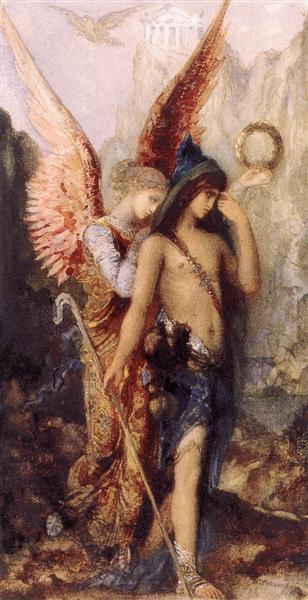 The Voices, 1867 - Gustave Moreau