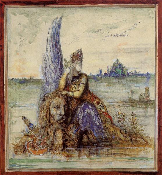 Venice, c.1885 - Gustave Moreau