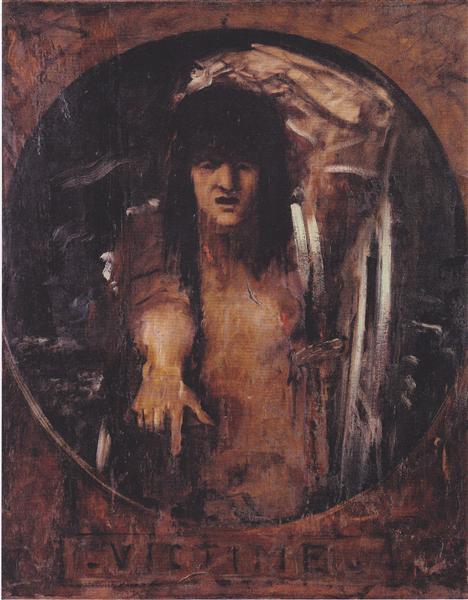 Victim - Gustave Moreau