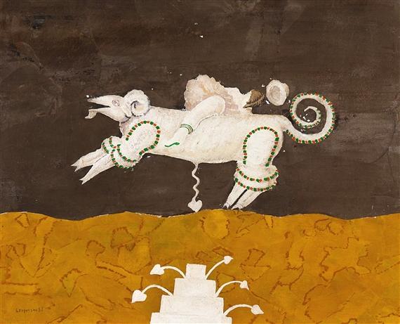 Cavaliere che cade, 1982 - Gustavo Foppiani