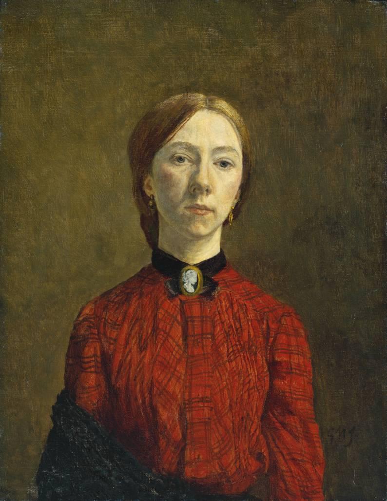 Self portrait with wife 1923 pyotr konchalovsky wikiart org