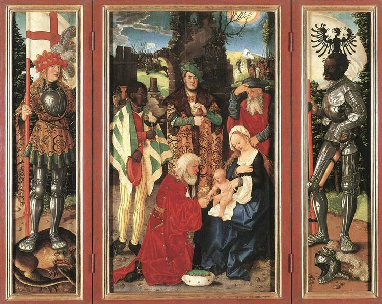 Adoration Of The Magi, 1507 - Hans Baldung