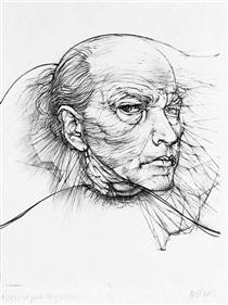 Self-Portrait - Hans Bellmer
