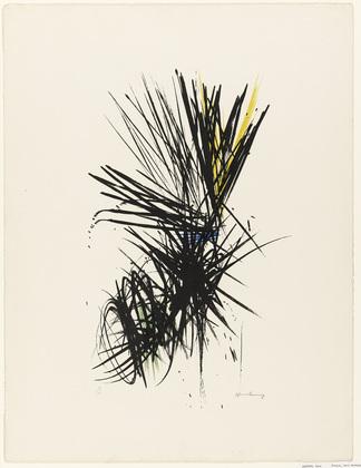 Untitled (L 12), 1957 - Hans Hartung