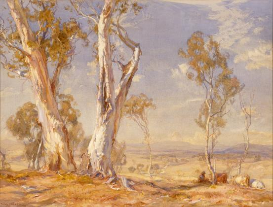 A summer's day, 1912 - Hans Heysen