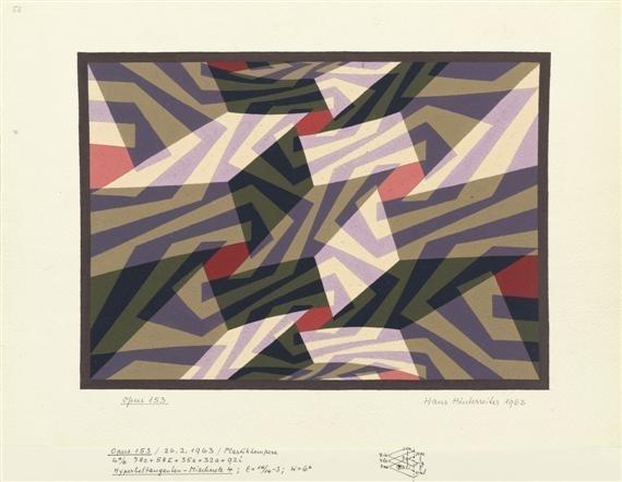 Opus 153, 1963 - Hans Hinterreiter