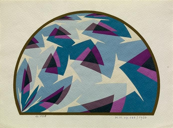 Opus 168, 1966 - Hans Hinterreiter