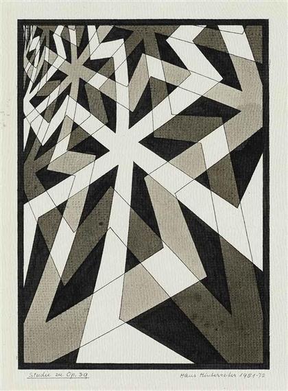 Studie zu Opus 39, 1951 - Hans Hinterreiter