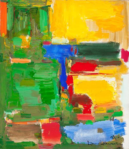 Dew and Dusk, 1957 - Hans Hofmann