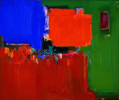 Indian Summer, 1959 - Hans Hofmann
