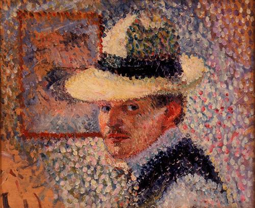 Self Portrait, 1902 - Hans Hofmann