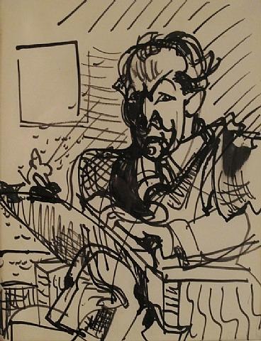 Self-Portrait, 1932 - Hans Hofmann