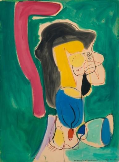 The Mannequin, 1946 - Hans Hofmann
