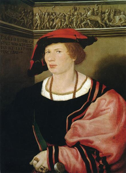 Portrait of Benedikt von Hertenstein, 1517 - Hans Holbein the Younger