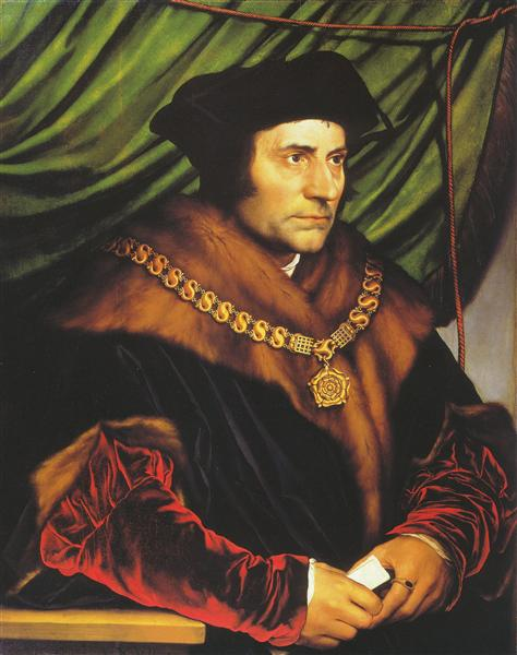 Portrait of Sir Thomas More, 1527 - Hans Holbein the Younger