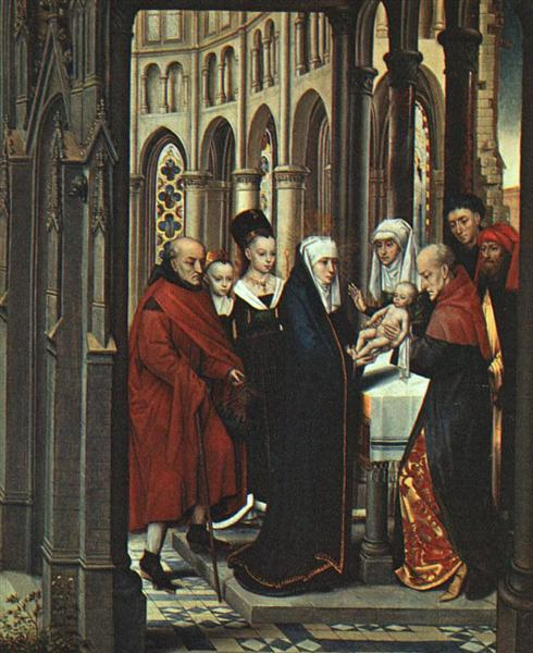 The Presentation in the Temple, 1463 - Hans Memling