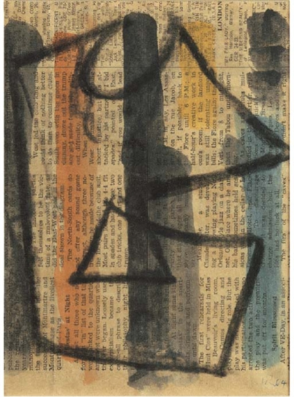 Plakatentwurf, 1964 - Hans Richter