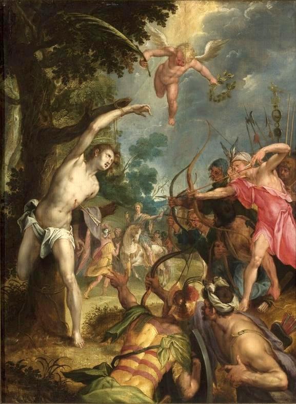 Martyrdom of Saint Sebastian, 1590