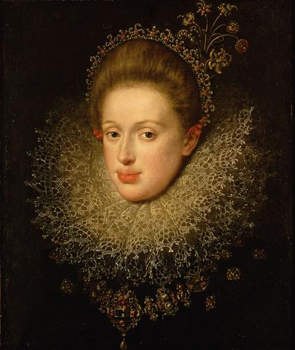 Portrait of Anna of Austria (1585-1618), 1604