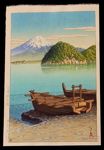 Morning at Mito Beach, 1953 - Hasui Kawase