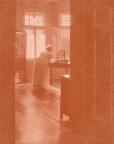 Toilette du matin (Mary Warner), 1907 - Heinrich Kuhn
