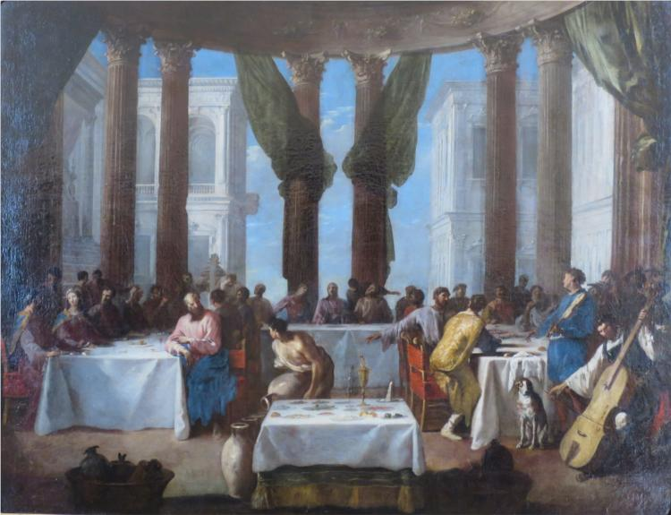 The Marriage in Cana - Heinrich Schonfeld