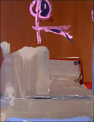 Captain's Watch, 1986 - Helen Frankenthaler