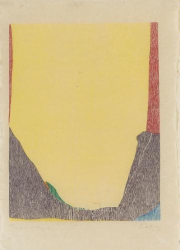 East and Beyond, 1973 - Helen Frankenthaler