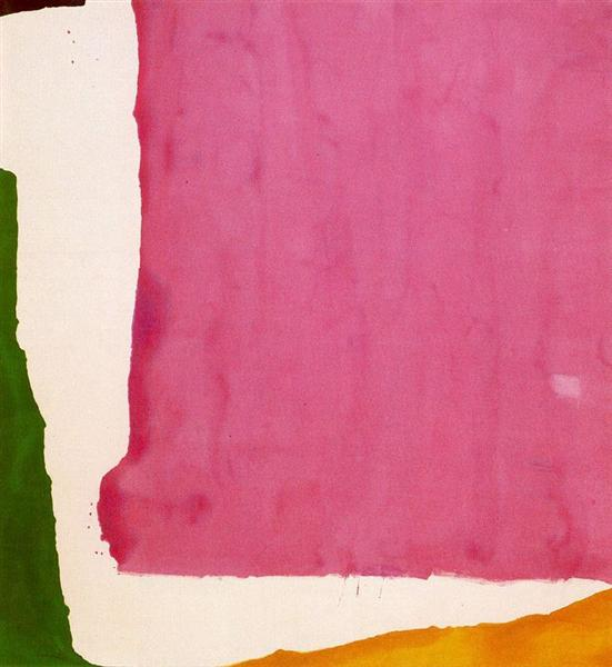 Mauve District, 1966 - Helen Frankenthaler