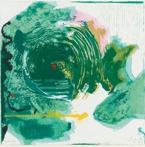 Radius, 1993 - Helen Frankenthaler