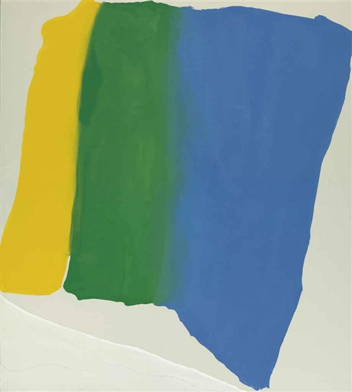 Summer Insignia, 1969 - Helen Frankenthaler